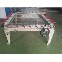 Double Arm Bridge Pre Press Equipment / Manual Screen Stretching Machine