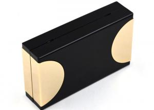 China Black Box Golden Chain Acrylic Clutch Bag For Evening Banquet Metalic17 * 10 * 4.5 on sale