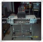 metal detector for hair care chemicals production line,chemical metal detector