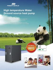 China High Efficient 28KW Geothermal to Water Heat Pump for Commercial Project on sale
