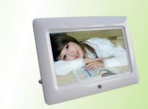 China HAIR solution 7 Inch Digital Picture Frame with touch screen Bright LCD for upright  on sale