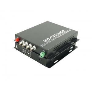 China High Definition TVI CVI AHD Video to Fiber Converter 50MHz DC5V 2A for CCTV on sale