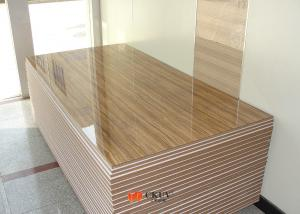 Quality Scratch Resistant Wood Grain Medium Density Fiberboard Uv Board For Furniture