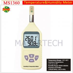 China Digital Humidity Temperature Meter MS1360 on sale