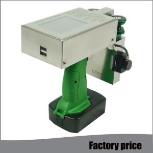 China Small Hand Industrial Inkjet Printer Code Printing Machine With Fast Dry Ink Cartridge on sale