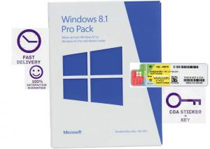 China Activated OEM COA License Sticker Windows 8.1 Professional Original Windows Win7 on sale
