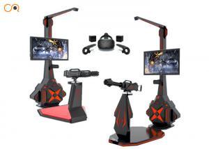 China Theme Park Virtual Reality Shooting Simulator With HTC VIVE Glasses on sale