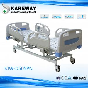 China Five Position Full Electric Nursing Bed Headboard And Footboard For Surgical Patient on sale