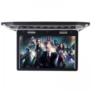 China High Resolution Motorized LCD Monitor 12 Inch HD LED Flip Down BUS Roof TV Monitor on sale