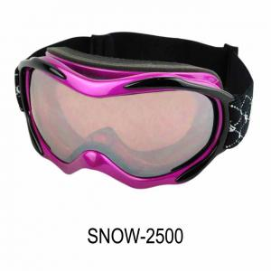 China Double Layer Sponges Custom Ski Goggles, snow spray for glass with One Layer , 100% Uv Anti Fog on sale