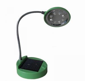 China Lâmpada posta solar portátil azul da eficiência elevada/do verde ABS do diodo emissor de luz com os 8 diodos emissores de luz dos PCes on sale