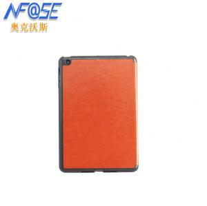 China Stylish Smart Ipad Mini Protective Covers Orange With Triangle Stand on sale