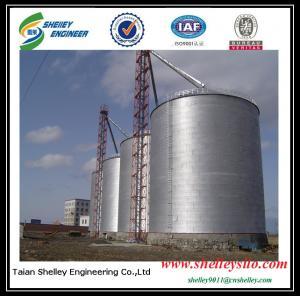 China Shelley Grain Silo TSE Grain Silo China assembly corrugated steel silo used on sale