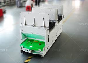 China WMS System Omni Directional Roller Conveyor AGV Robot With Roller Platform on sale