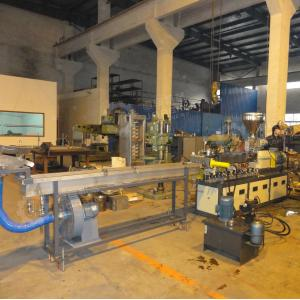 China PP PE mastbatch twin screw extruder machine on sale