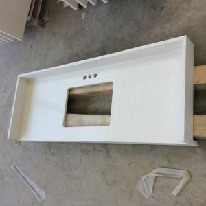China Quartz kitchen countertops white kitchen worktops quartz kitchen solid surfaces on sale