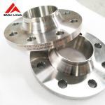 Titanium Alloy Weld Neck Flange EN1092-1 , Titanium Gr 2 Flanges WNRF UNS R50400