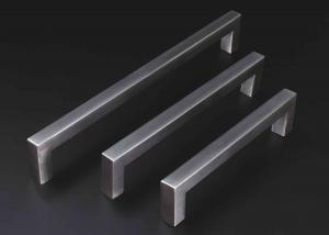 China Squar shape Stainless Steel Handles hollow or solid funiture handle  cabinet drawer handles on sale