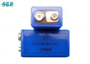 China Wireless Microphone 9V Lithium Battery CR9V 800mAh High Power No Passivation Cell on sale