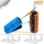 serie 105°C 8.000 ~ 12.000 horas del condensador LKG de 470uF 50V 12.5x20m m de condensador electrolítico de aluminio radial RoHS
