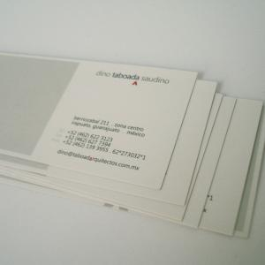 China paper business card on sale