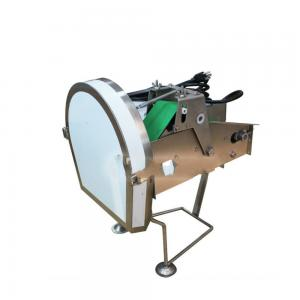 China Electric Green Onion Scallion Cutting Machine , Desktop Vegetable Shredder Machine on sale