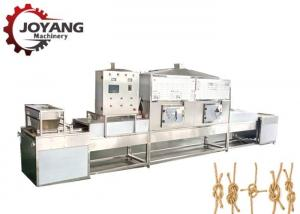 China Silver Industrial Microwave Drying And Sterilization Machine Rope Drying Machine Heating Source on sale