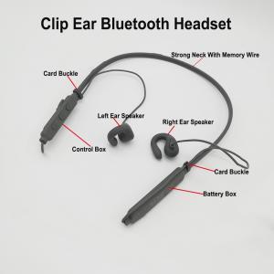 China Clip Ear Bluetooth Headset with HD Sound quality Bone Transducer Headphones on sale