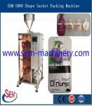 Irregular shape sachet liquid packing machine,DLL-160 Automatic Strip Packing Machine