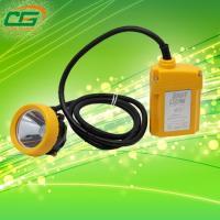 Plastic Water Proof Led Miner Lamp Handheld Yellow High Brightness