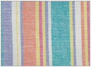 China 55/45 LINEN RAYON BLENDED YARN DYED STRIPE FABRIC   #1515 54X52 on sale