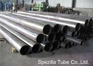 China Pickling Titanium Pipe Cold Drawn Seamless Tubing ASTM B338 Grade 1 Custom Sizes on sale