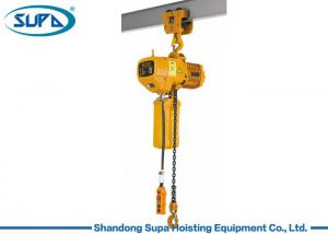 China Single Speed Electric Lifting Hoist KITO 2.5 Ton Hand Trolley Construction Hoist on sale