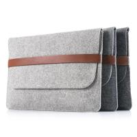 Factory price mac book pro felt laptop briefcase bag. size is  a4. 3mm microfiber material