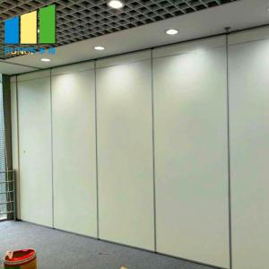 China MDF Movable Folding Banquet Hall Meeting Room Acoustic Partition Walls on sale