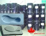 Goma de silicona del molde del zapato