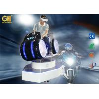 Dynamic 9D VR Racing Car Game Machine / Virtual Reality Motorcycle