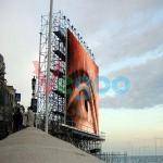 sports stadiums P16 Outdoor Full color LED Display 7500cd/㎡