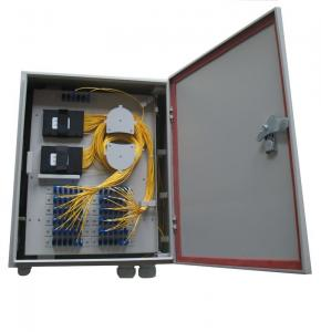 China Fiber Optic Outdoor Ftth Termination Box Installed With 1*32 / 1*64 PLC ABS Packing Splitter on sale