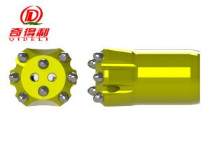 China Φ40mm 8 Buttons Taper Button Bit , Super Hard Rock Carbide Button Bits Degree 7° / 11° / 12° on sale