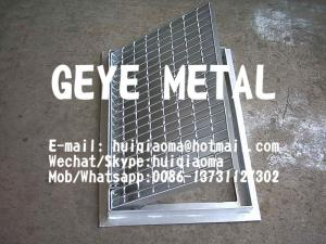 China Drainage Pit Cover, Trench Drain Bar Gratings, Metal Grid for Ditch Cover, Channel Grates on sale