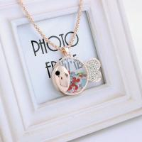 China Jewellery pendant cute pendant jewelry made with swarovski element crystal lucky fish necklace on sale