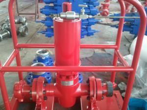 China 2 1/16 Surface Well Testing Equipment SSV Emergency Shut Down Valve With ESD Control Panel on sale