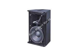 China 10 Inch Church Outdoor PA Speakers / Pro Audio Stereo Loudpseakers on sale