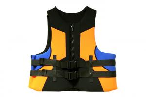 China Men's Swimming Sport Life Jackets , Paddling Lightweight Life Vest For Kayaking  on sale