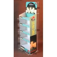 China Multi Tier Retail Cardboard Floor Displays,Candle product paper display rack, Withstand weight: 10lbs-20lbs on sale