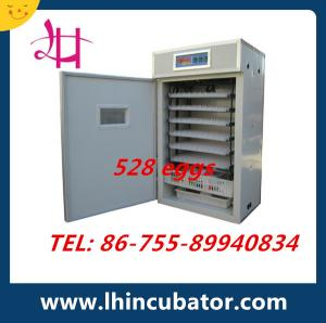China CE Marked High Efficient Automatic Chicken Egg Incubator 528 eggs incubator on sale