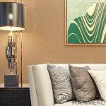 普及した簡単な様式の内部の壁紙部屋装飾的な0.53*10M
