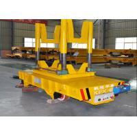 4 Wheel Ladle Transfer Car Motor Driven Electric Rail Flatbed Car For Ladle Transportation