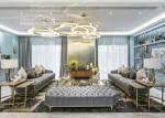 2018 New Design Modern Stainless Steel Living Room Furniture Sofa Sets